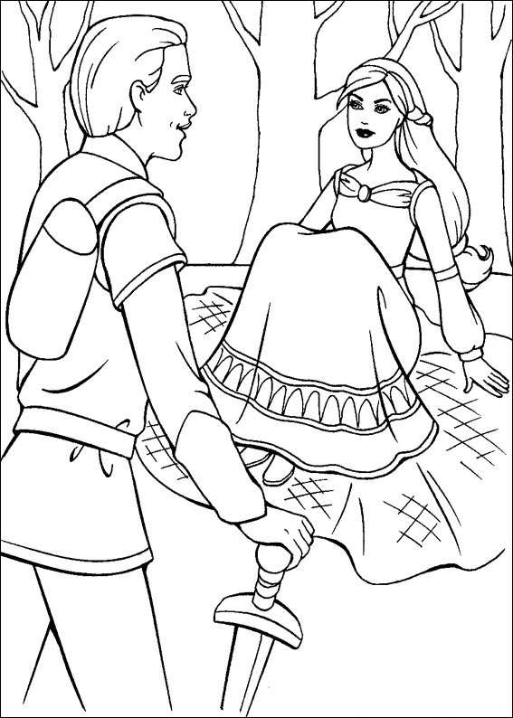 Barbie and The Magic Pegasus Coloring in Pages 10