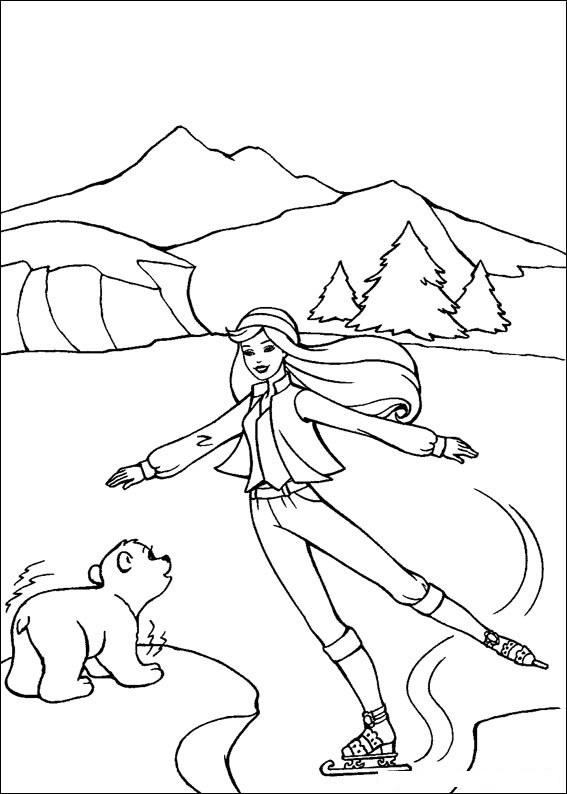 Barbie and The Magic Pegasus Coloring in Pages 7
