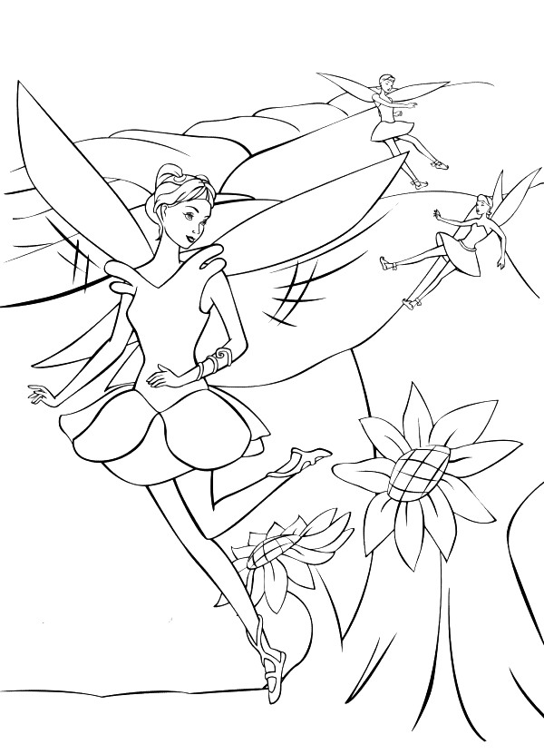Barbie Fairytopia Coloring in Pages 6