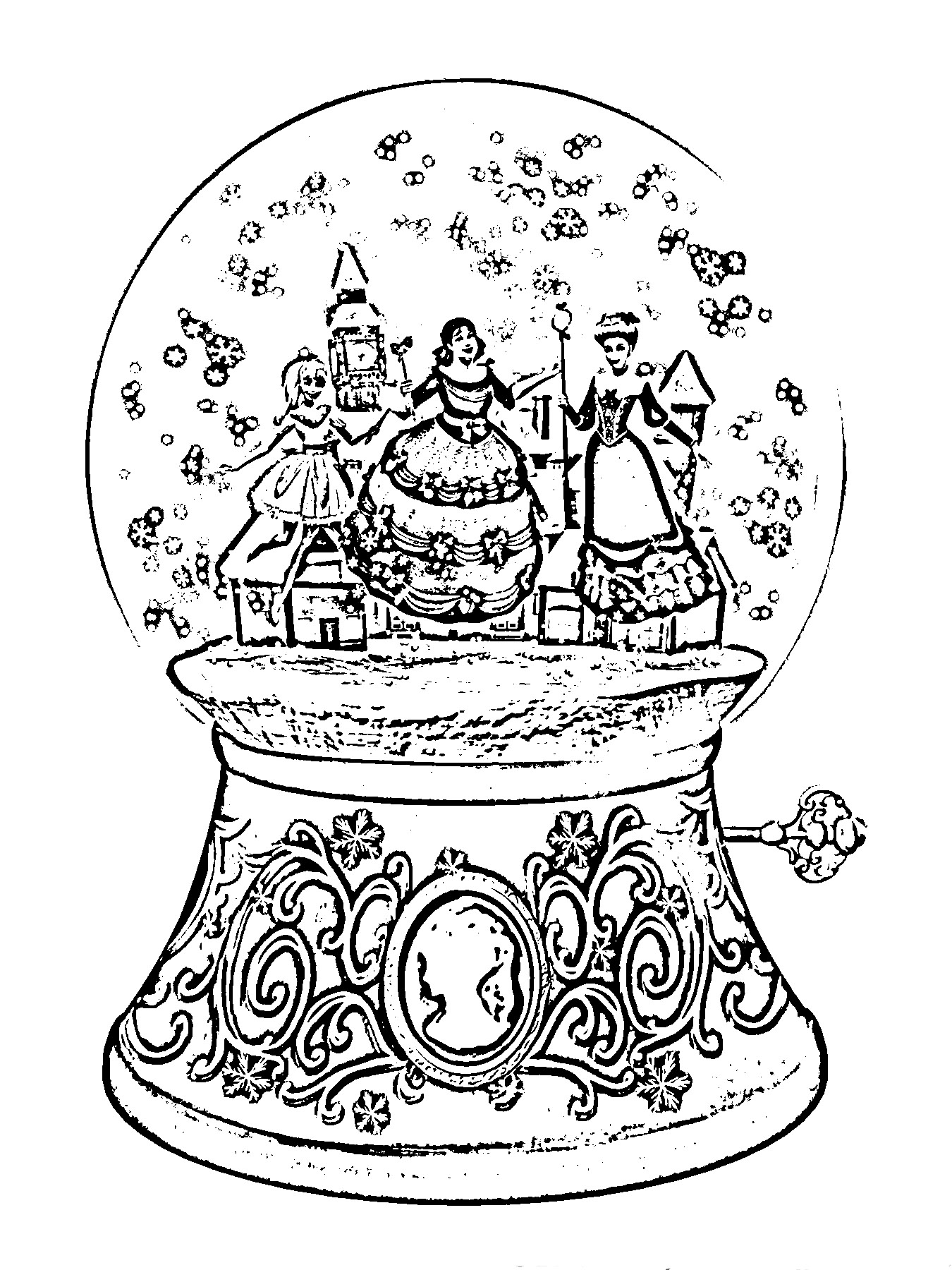 Barbie in a Christmas Carol Coloring in Pages 2