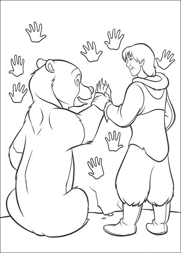 Brother Bear Coloring in Pages 5