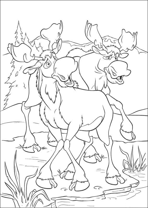 Brother Bear Coloring in Pages 6