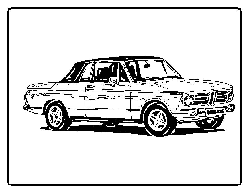 Cars Coloring in Pages 2