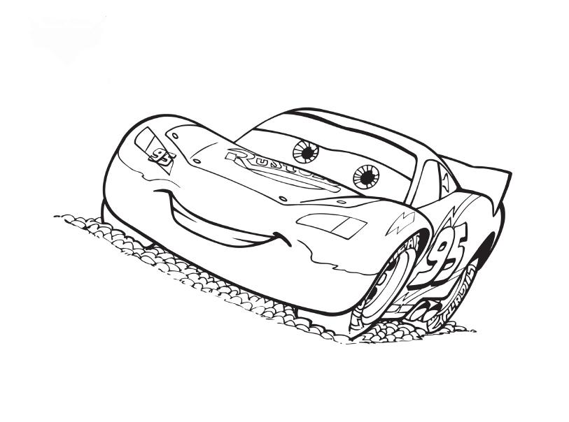 Cars Coloring in Pages 4
