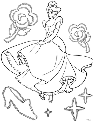 Cinderella 2 Coloring in Pages 8