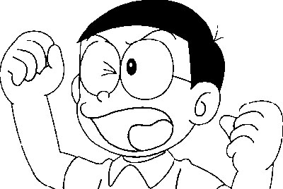 Doraemon Coloring in Pages 1