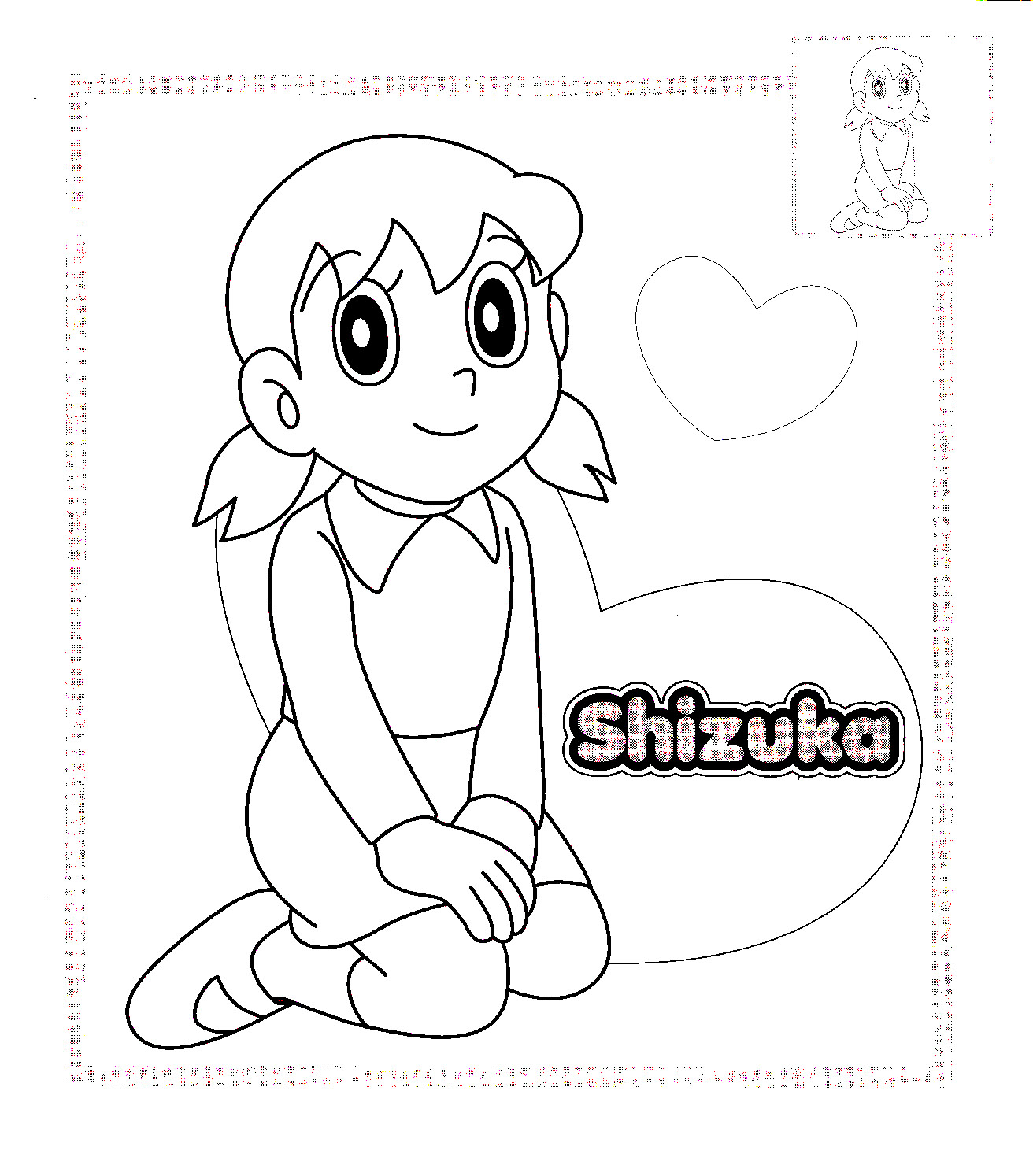 Doraemon Coloring in Pages 4