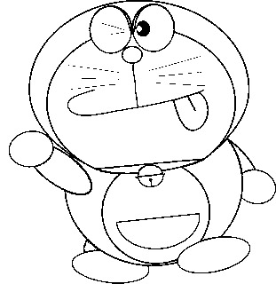 Doraemon Coloring in Pages 5