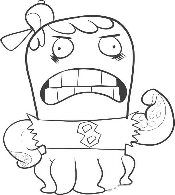 Fish Hooks Coloring in Pages 10