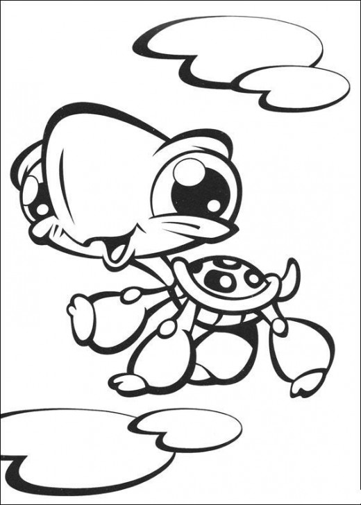 Littlest Pet Shop Coloring in Pages 1