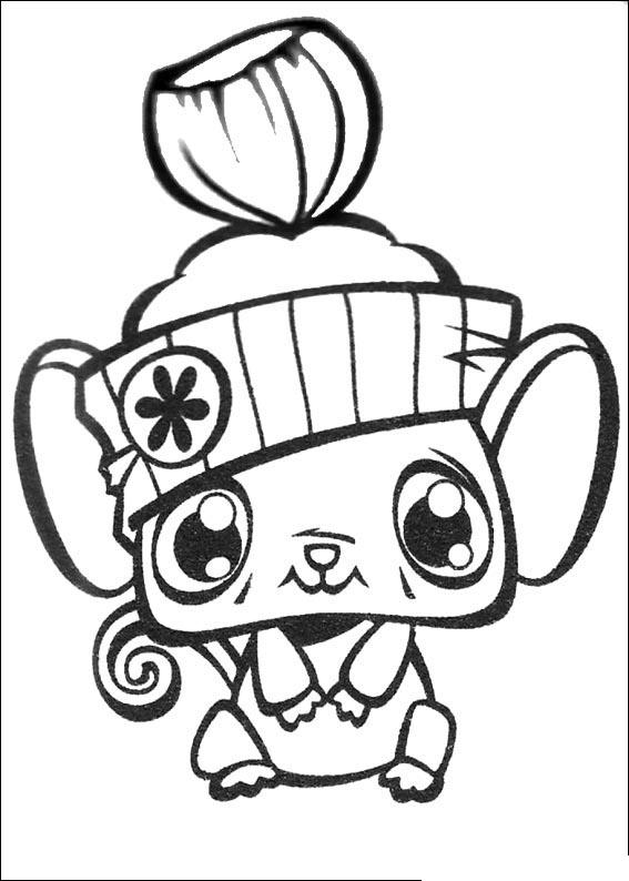 Littlest Pet Shop Coloring in Pages 6