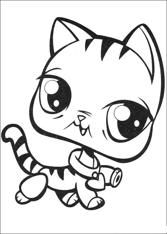 Littlest Pet Shop Coloring in Pages 8