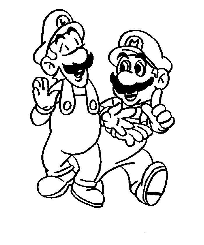 Mario Coloring in Pages 5
