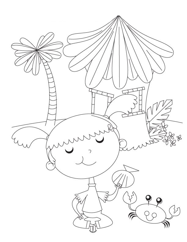 Preschool Coloring in Pages 1