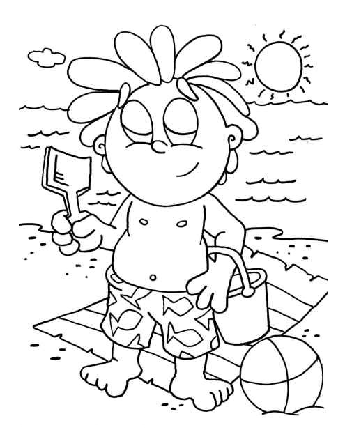 Preschool Coloring in Pages 10