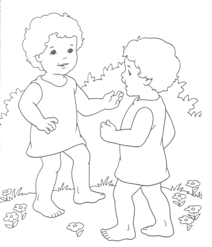 Preschool Coloring in Pages 2