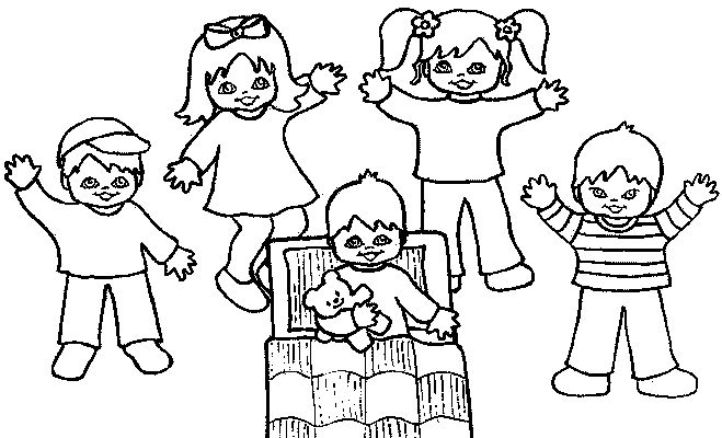 Preschool Coloring in Pages 3