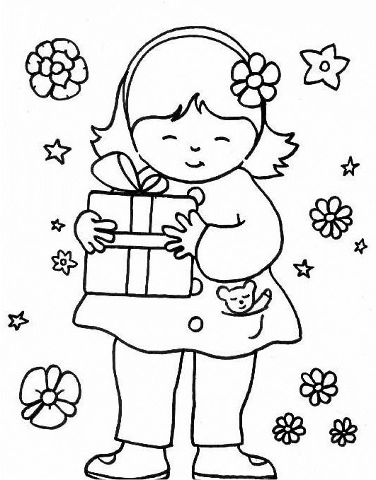 Preschool Coloring in Pages 4