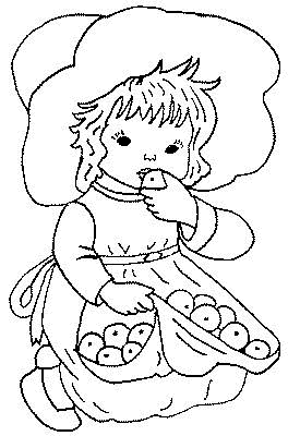 Preschool Coloring in Pages 6