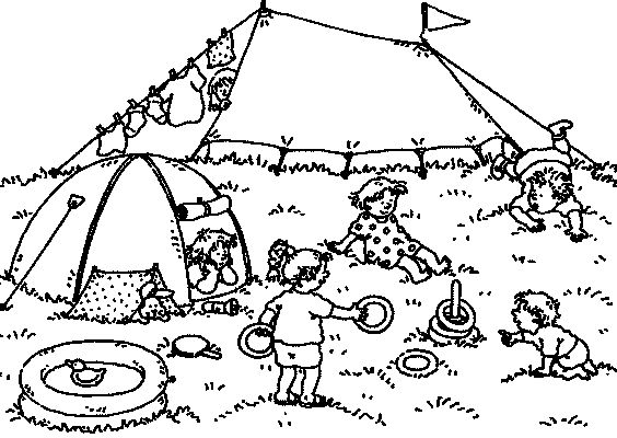 Preschool Coloring in Pages 8