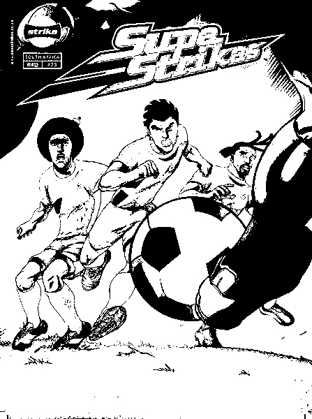 Supa Strikas Coloring in Pages 2