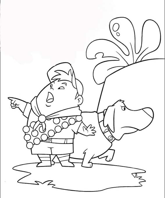 pixar movies coloring pages. pixar up coloring page.