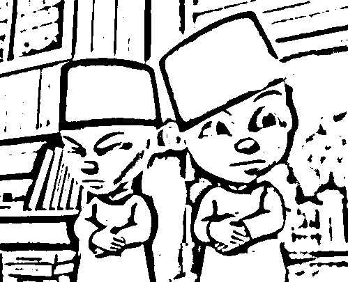 Upin Ipin Coloring in Pages 3