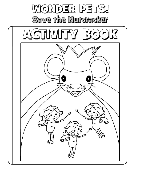 Wonder Pets Coloring in Pages 2