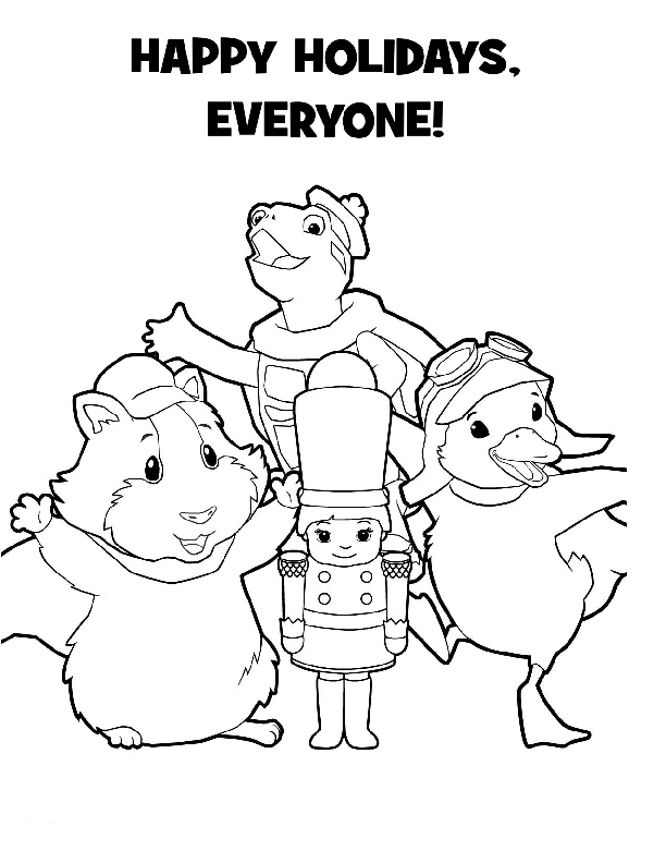 Wonder Pets Coloring in Pages 6