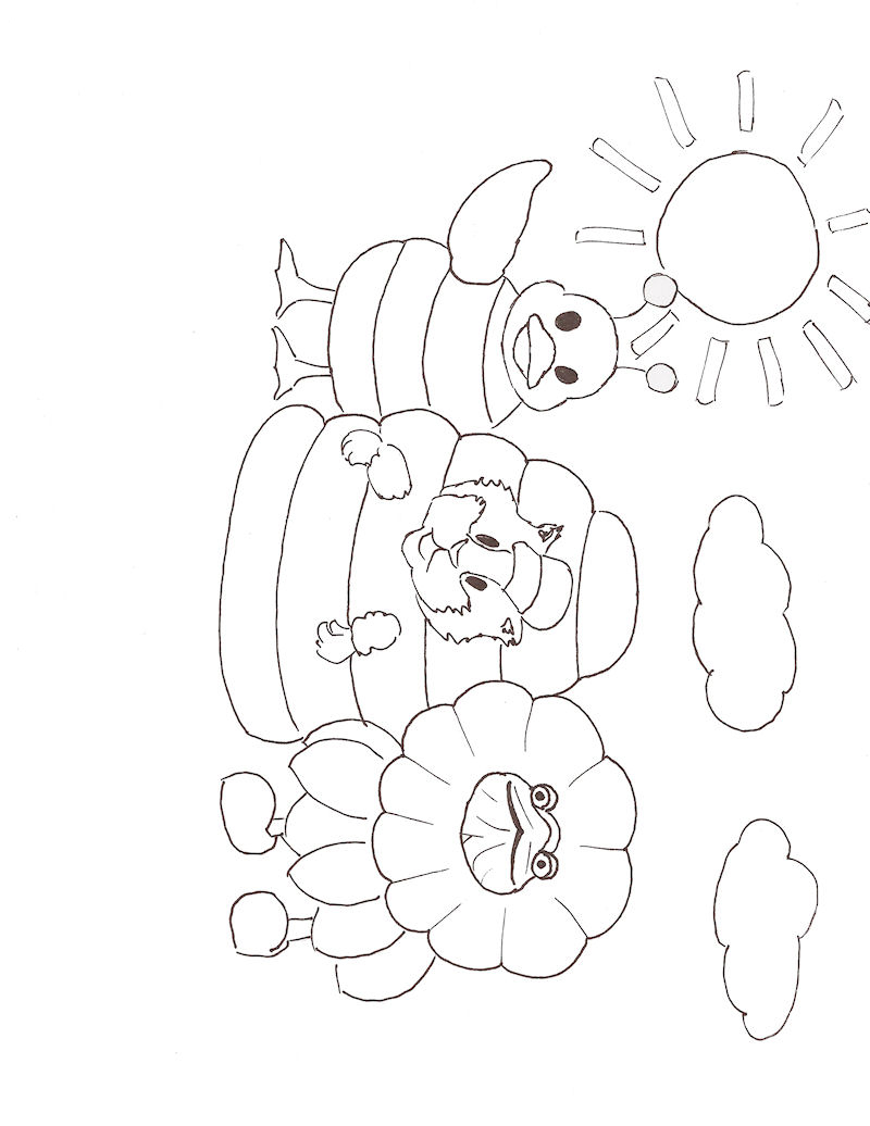 Wonder Pets Coloring in Pages 9